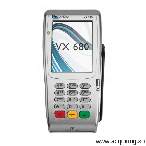 Мобильный POS-терминал Verifone VX680 (Wi-Fi, Bluetooth) под Прими Карту в Краснодаре
